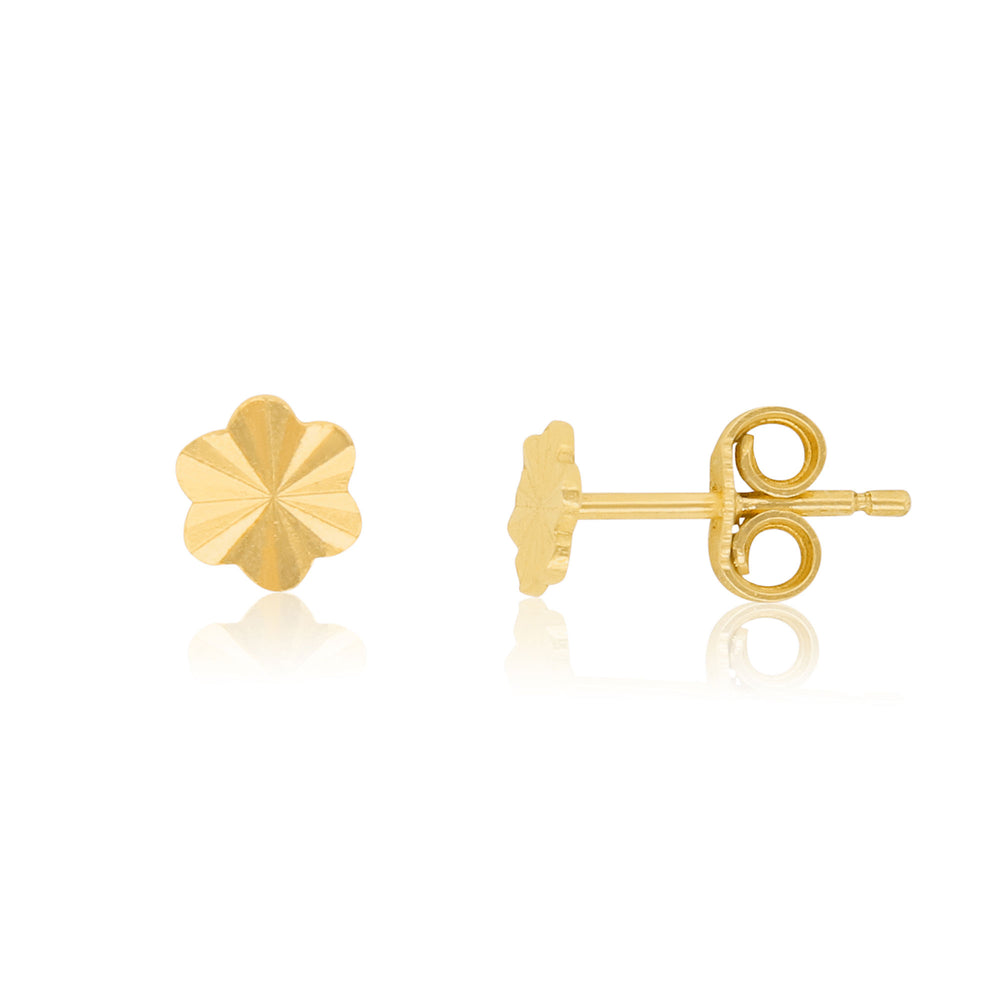 Vintage Inspired Flower Stud Earrings
