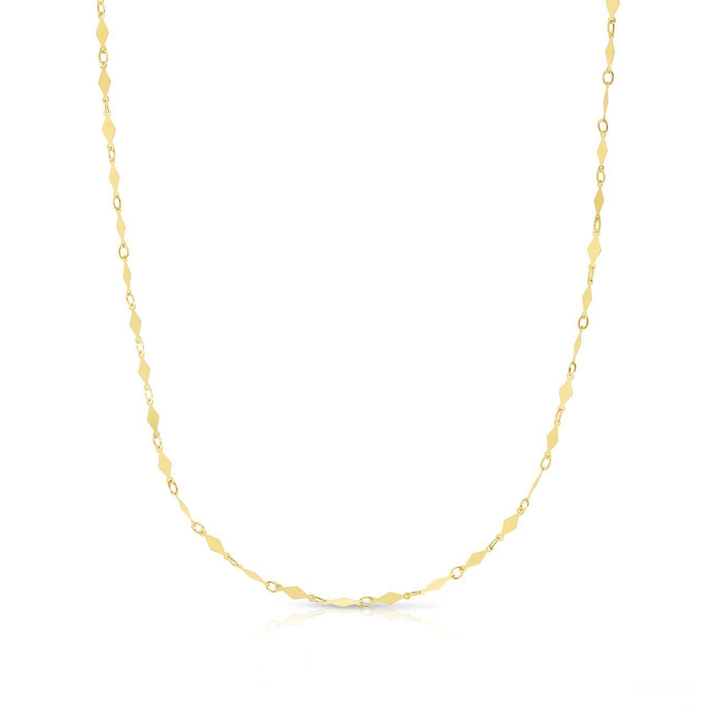 Gold Kite Necklace