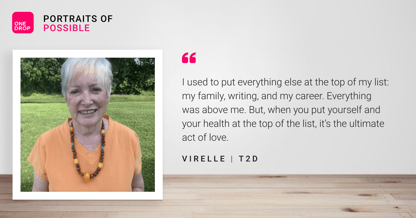 Portraits of Possible: Meet Virelle - One Drop