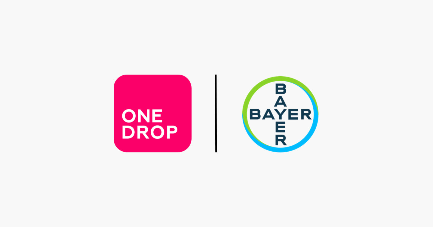 One Drop Launches Global Commercial Partnership with Bayer and Announces $40M in Series B Financing