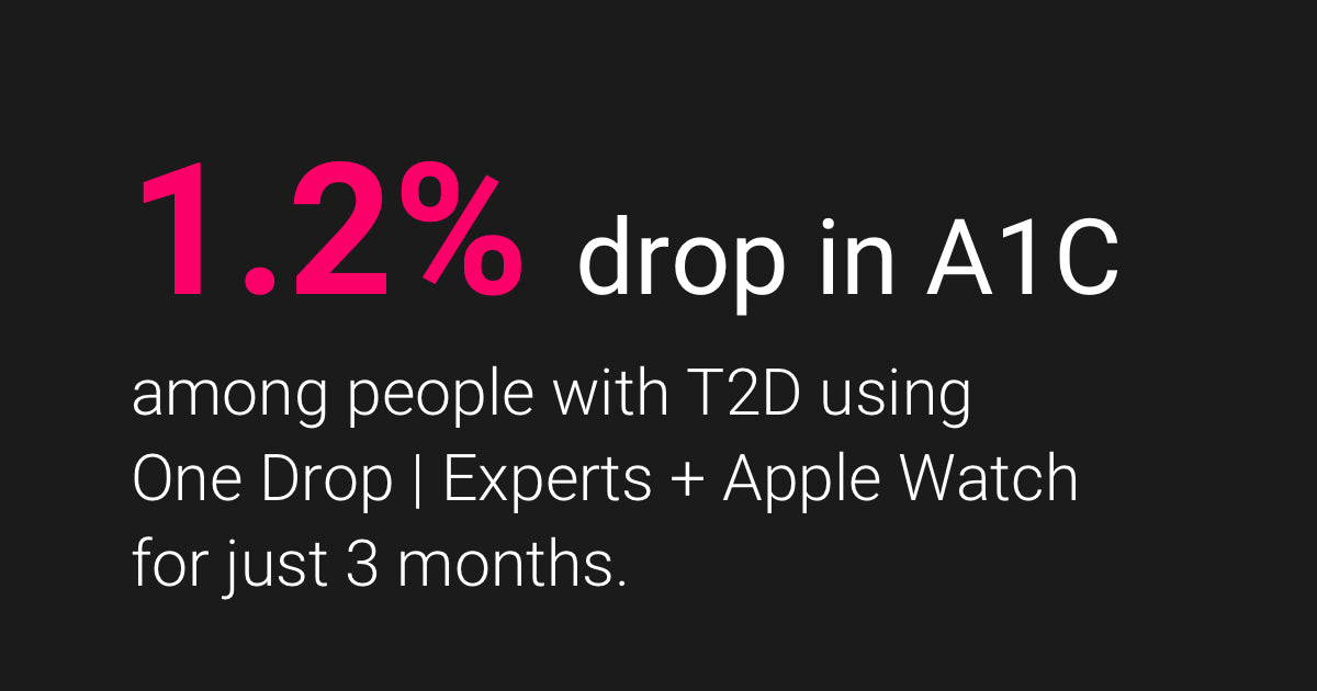 One Drop | Experts + Apple Watch