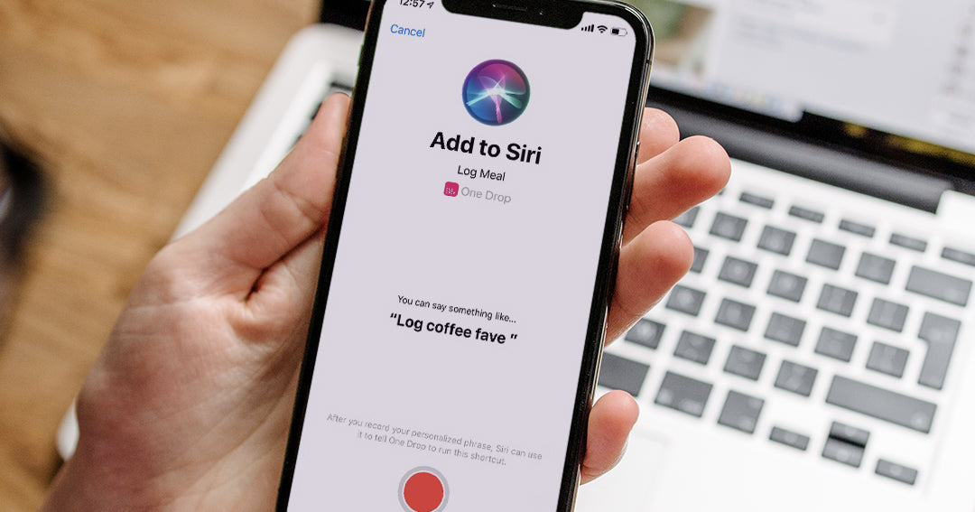 One Drop | Siri Shortcuts for Diabetes, Now Available in One