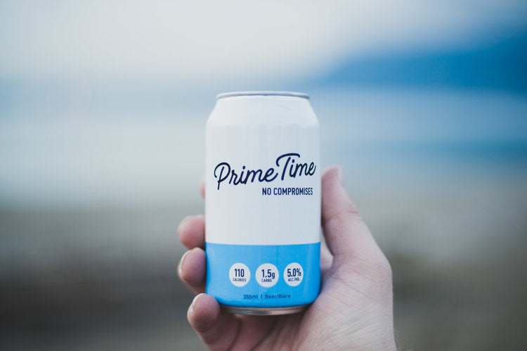 primetime beer - low carb beer - keto beer - best low carb beer - diabetic friendly beer