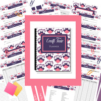 The Best Craft Fair Planner Ever | 35 Pages |