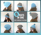 Polly Double-Thick Reversible Hat  | LITE