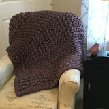 Tranquil Textures Blanket | Crochet Pattern