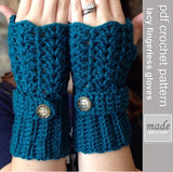 Grace Fingerless Gloves | PREMIUM