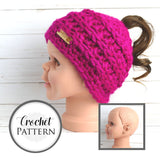 Phoneytail Fun Bun Hat | PREMIUM