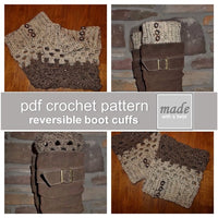 Canadia Reversible Boot Cuffs | PREMIUM
