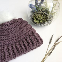 Keystone Ribbed Double Brim Hat Crochet Pattern | PREMIUM VERSION
