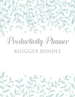Productivity Planner for Crochetpreneurs | 85 Pages+ Bonus Bundles