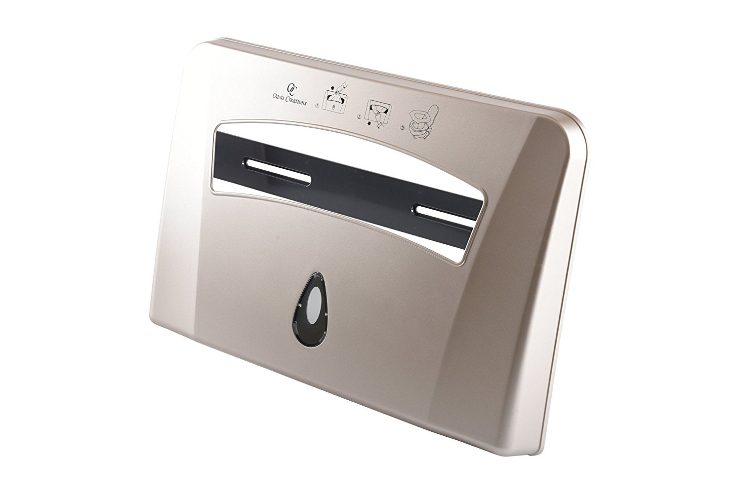 TOILET SEAT COVER DISPENSER - BY OASIS CREATIONS  COMMERCIAL / RESIDENTIAL