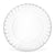 "6"" Clear Round Plates (50 count)"