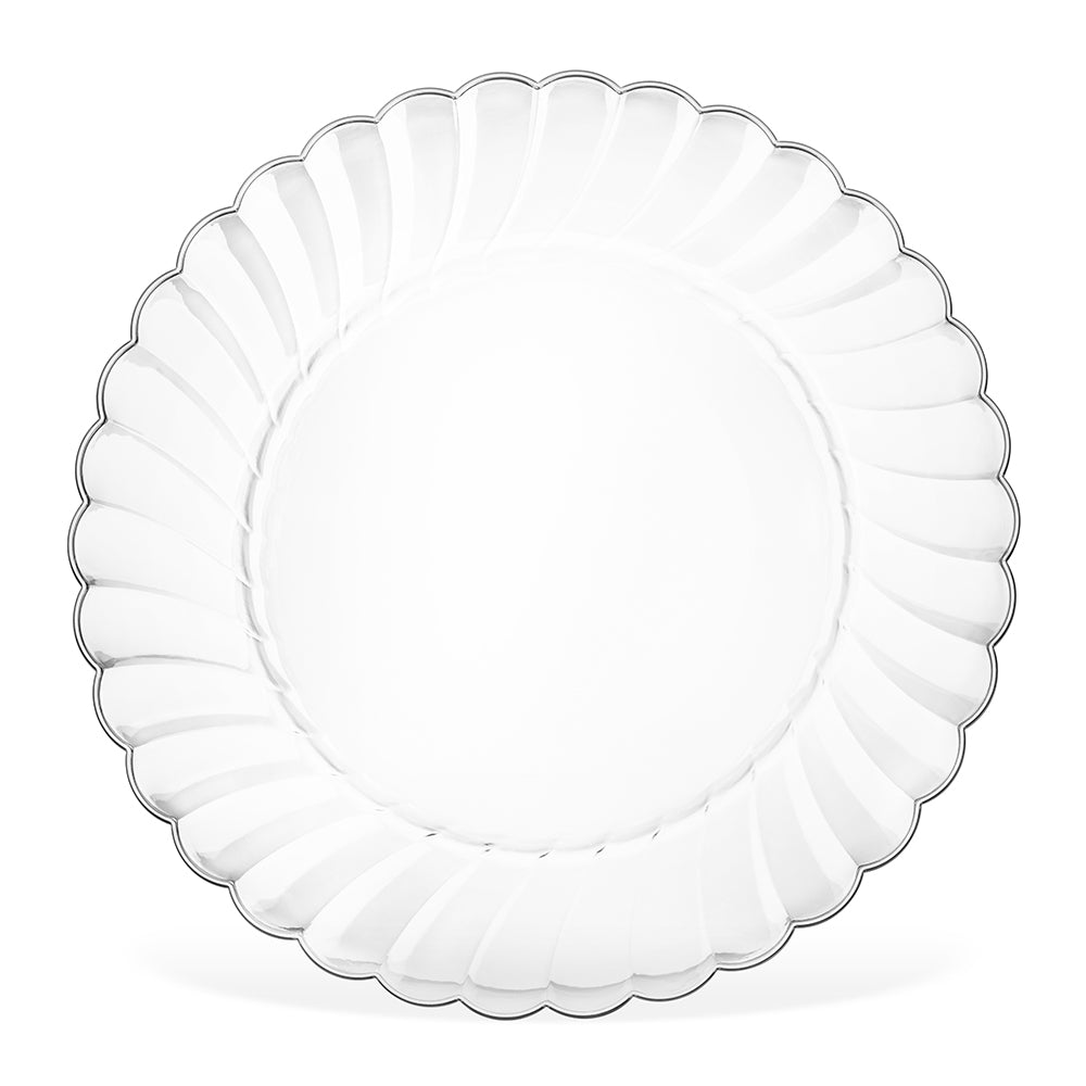 6 inch clear plate