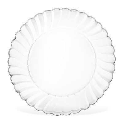 "9"" Clear plastic Plates"