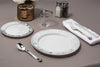 plastic plates and cutlery