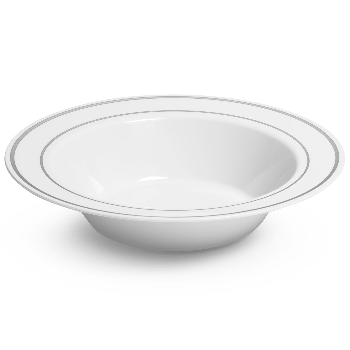 side view of hard plastic bowl