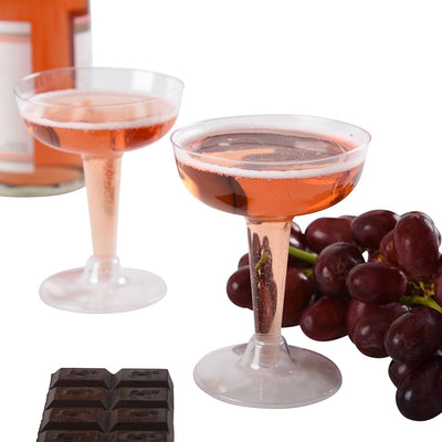 Champagne Glasses 4 oz (50 count)