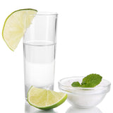 Straight Walled Shooter Glasses - Set of 25 - Disposable Shot Tumblers - OasisCreationsUSA