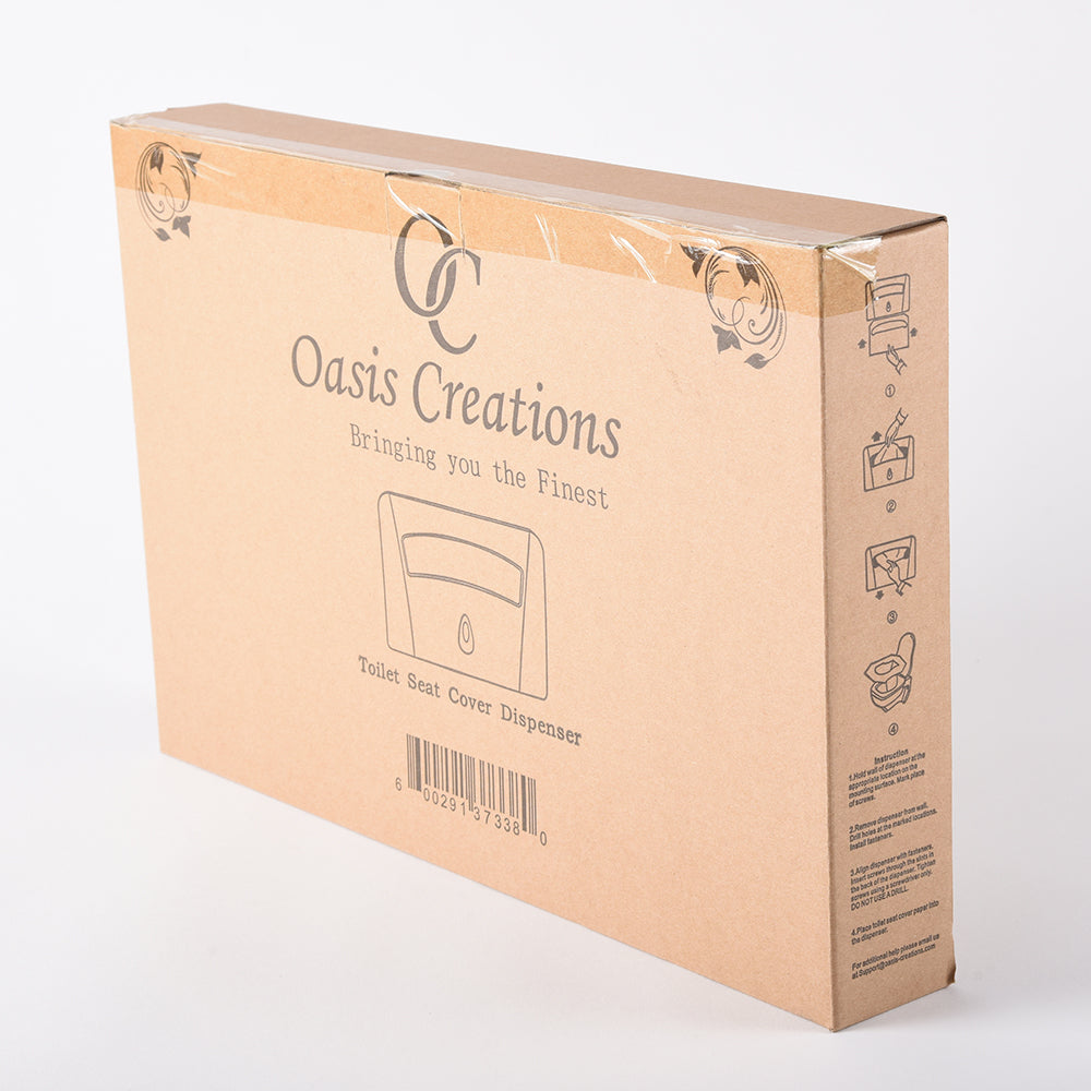 side box of oasis dispenser
