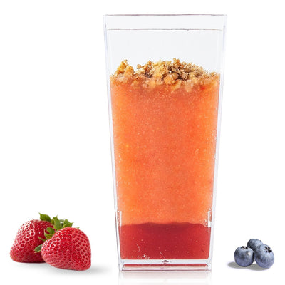 Tall Square 3 oz Dessert Cups (50 Count)