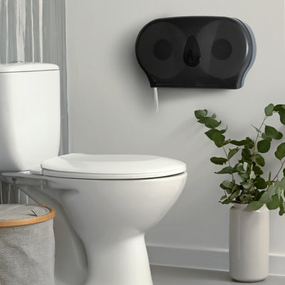 Jumbo Double Roll Toilet Paper Dispenser - DTP33