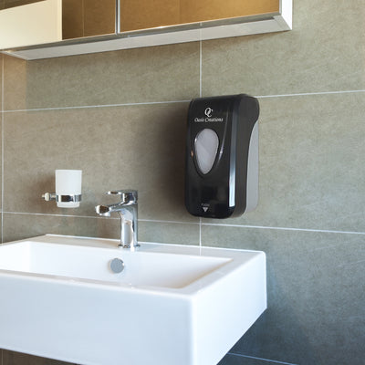 Manual Soap Dispenser (Black Smoke) - SD336