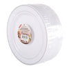 Silver Rimmed White Plates pack