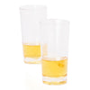 Premium Plastic Straight Wall Shot Glasses (25 count)