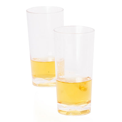 shot cup with whisky