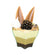 Flower Shape Mini Bowl -Spoons Included - 2.7 oz (50 Count)