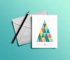 Customizable 'Wishing You Joy' Holiday Card - Pack of 10