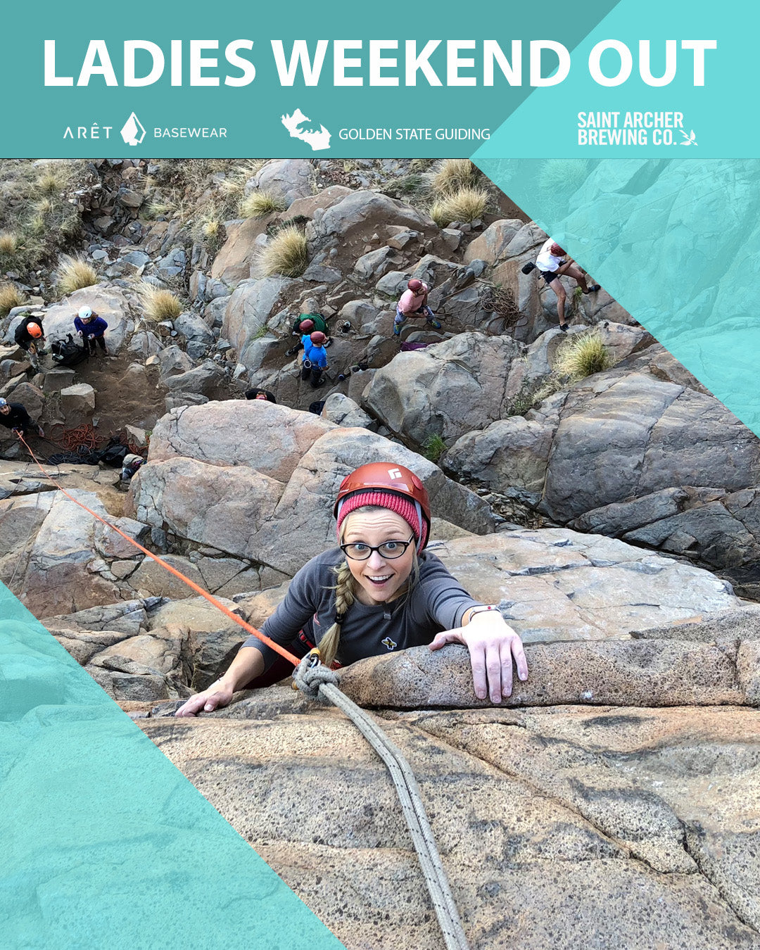 Ladies Weekend Out! A Two Day Women's Climbing Clinic