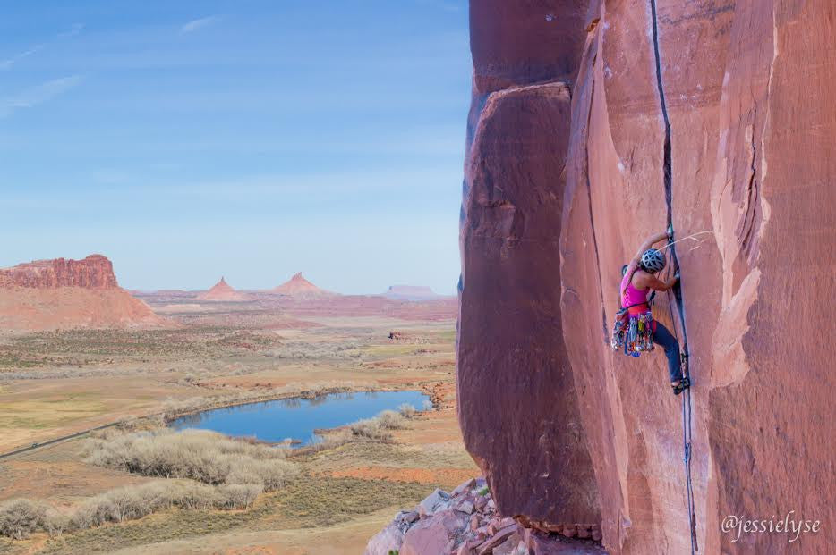 Jessica Olson Takes on Mental Blocks and Crack Climbing in Indian Creek