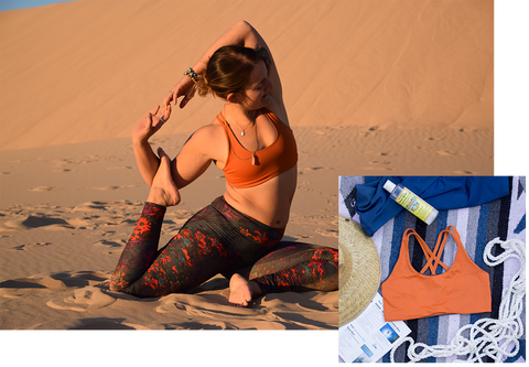 Betsy Dionne's favorite Arêt Basewear TOURA is the High Cut Dune
