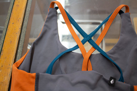 Têra Kaia basewear repair program upcycled garments for a circular lifecycle.