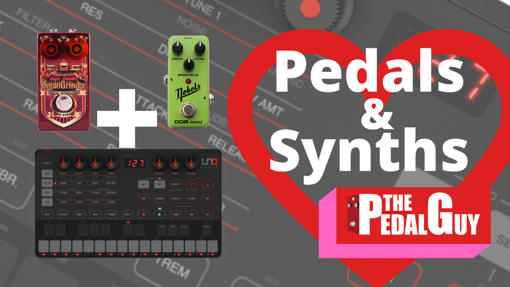 ThePedalGuy VLOG Pedals and Synths with IK Multimedia Lounsberry Pedals and Nobels