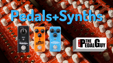ThePedalGuy VLOG Pedals and Synths Vinicius Electrik Lizard and NuX Mini Core Pedals