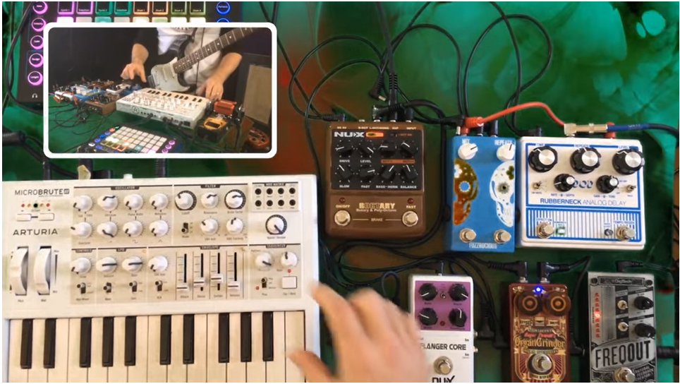 ThePedalGuy VLOG | Using Pedals with Synths Part 3