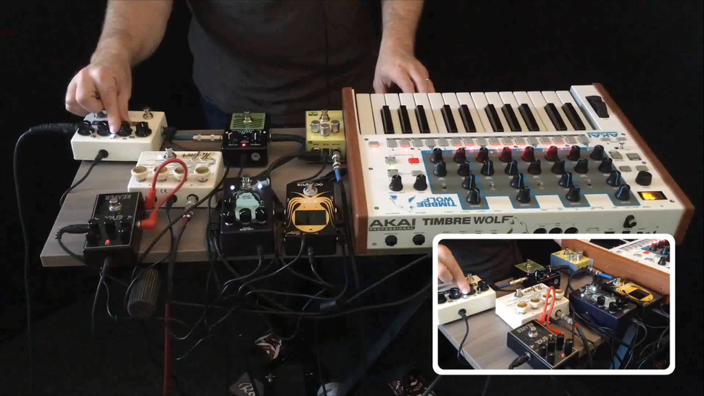 Using Pedals with Synths