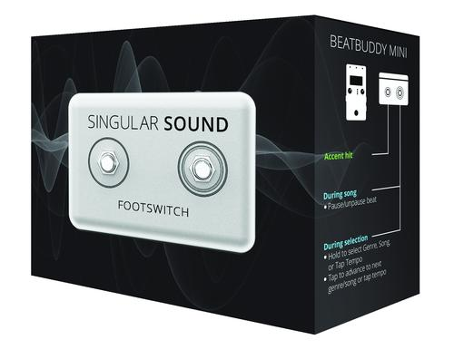 Singular Sound Official BeatBuddy Dual Footswitch+ Open Box-ThePedalGuy