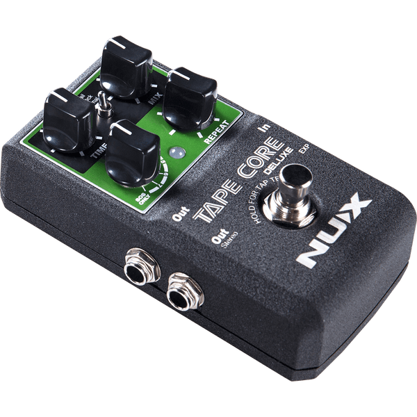 NuX Tape Core Deluxe Tape Echo Pedal for Guitar and Bass-ThePedalGuy