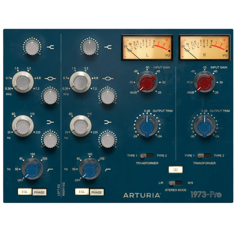 Arturia 1973-Pre Preamp Plug-in [Digital Download]-ThePedalGuy