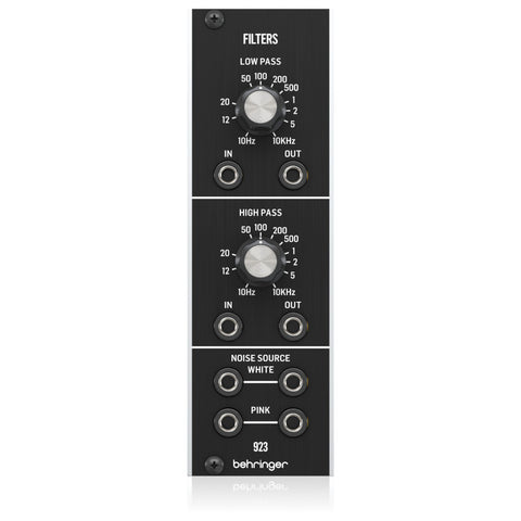 Behringer 923 Filters Legendary Analog Dual Filter Module for Eurorack-ThePedalGuy