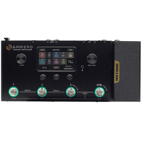 Hotone Ampero Amp Modeler and Effects Processor Pedalboard PREORDER. Ships in Mid July-ThePedalGuy