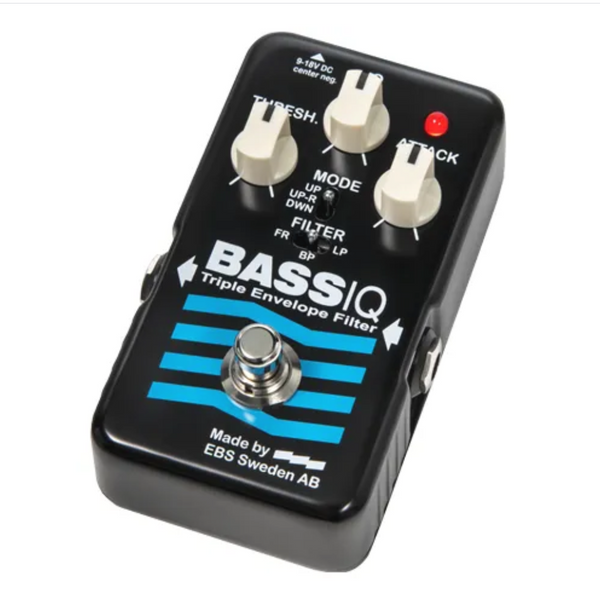 EBS BassIQ Blue Label Analog Envelope Filter Pedal-ThePedalGuy