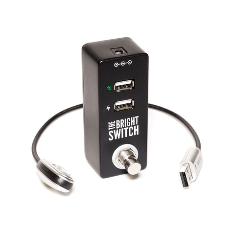 Rock Stock Pedals The Bright Switch USB Pedalboard & Utility Light-ThePedalGuy