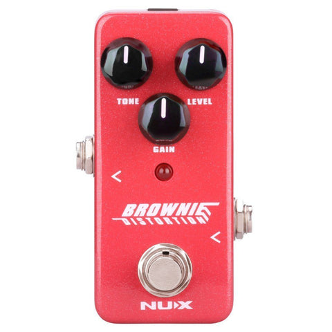 NUX Brownie Distortion Pedal Open Box-ThePedalGuy