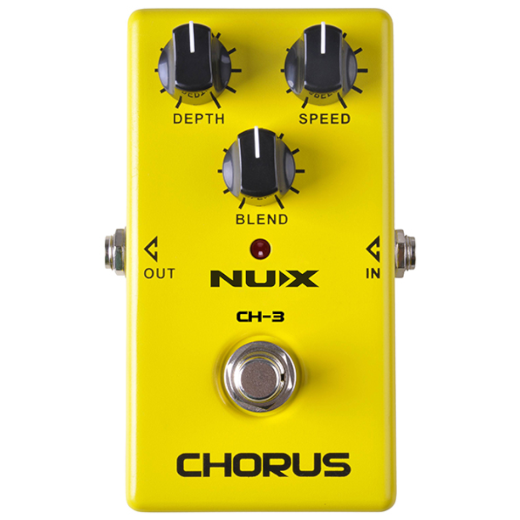 NuX CH-3 Chorus Pedal for Guitar and Bass-ThePedalGuy