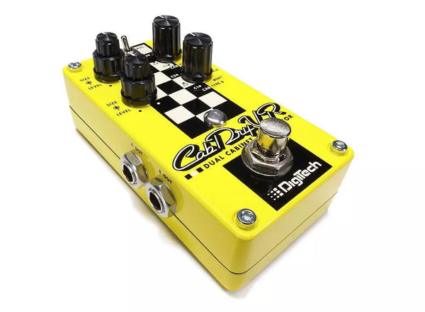 Digitech Cab DryVR Dual Cabinet Simulator Pedal-ThePedalGuy
